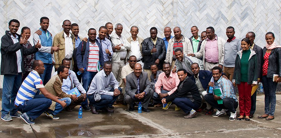 Feature photo: Attendees of the Literacy Boost workshop in Adama City (Nazareth), Ethiopia
