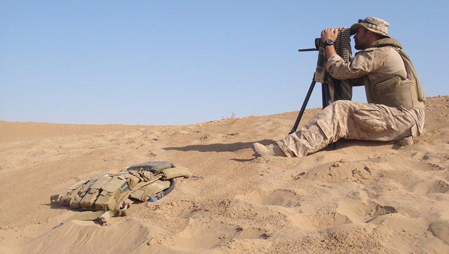Alex Martin in Sinjar District, Ninenvah Province, Iraq, November 2008