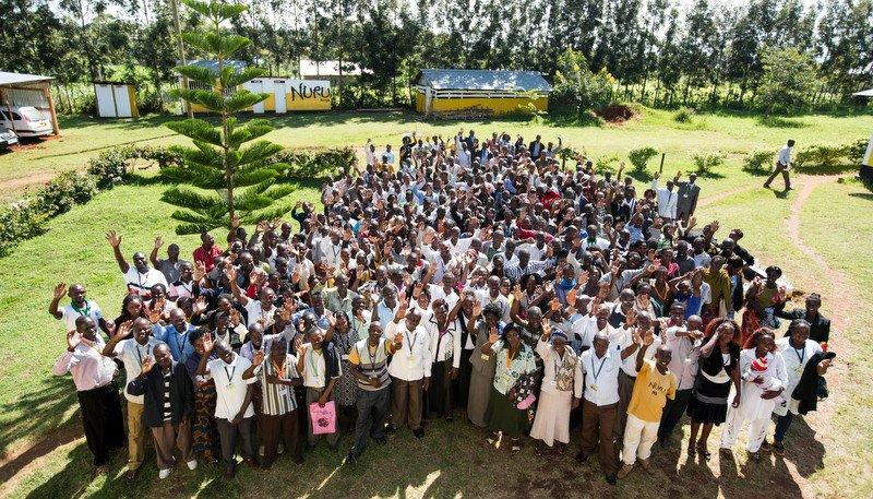 Nuru Kenya bids farewell the the last Foundation Team