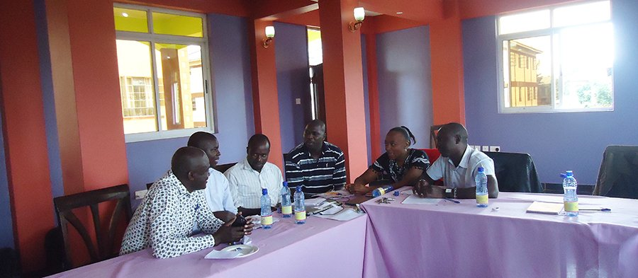 Nuru Kenya Leadership Program - group discussions