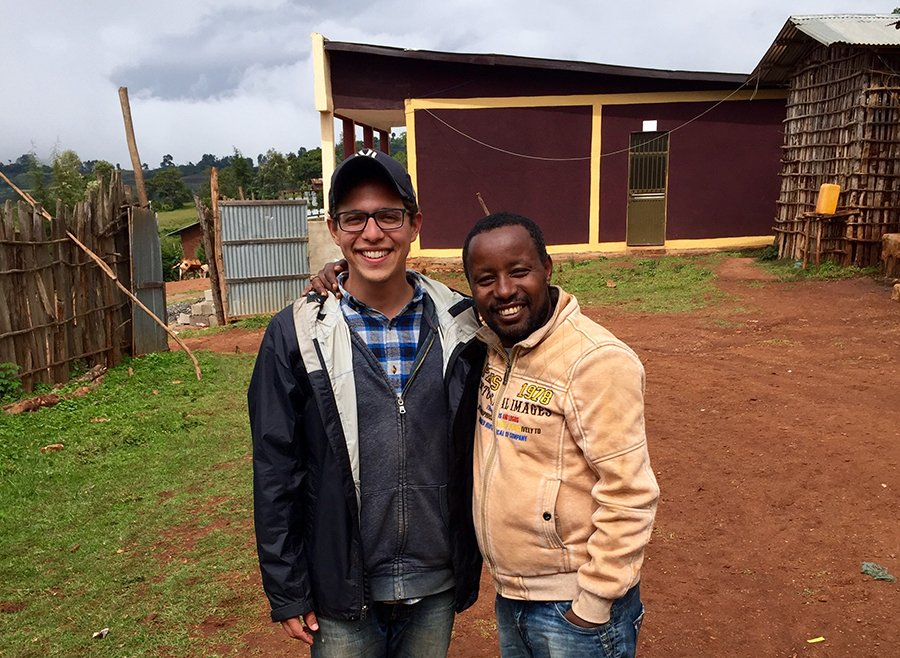 Kevin Nascimento, Education and Healthcare Program Specialist, Ethiopia, interviews Zelalem Abera is the Healthcare Program Manager for Nuru Ethiopia