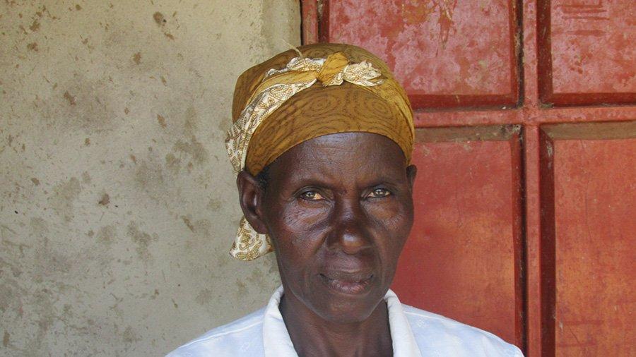 Eunice Matingi Marwa, a Nuru Kenya farmer