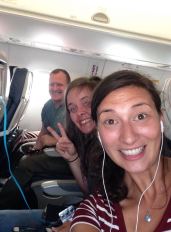 Nuru staff and Rebecca heading back to Nairobi after a week of learning at Nuru's project in Isebania, Kenya.
