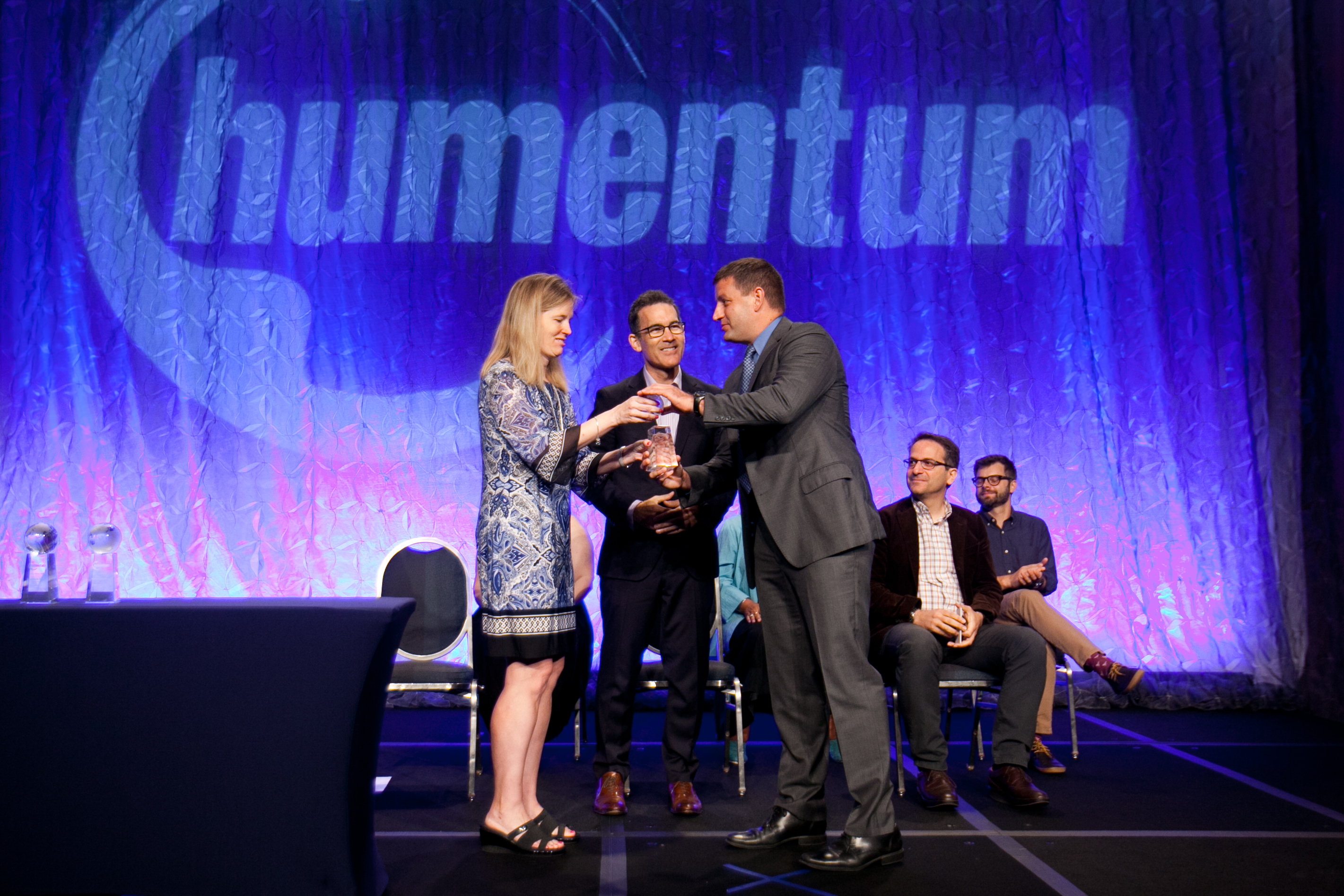 Brian von Kraus receives the Operational Excellence Award at the Humentum recognition breakfast in Washington, DC on July 27th.